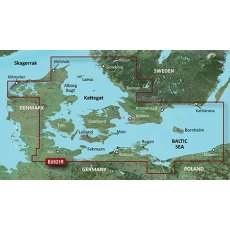 Garmin Bluechart G3 EU021R Denmark East And Sweden Southeast