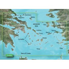 Garmin Bluechart G3 Vision VEU450S Athens And Cyclades