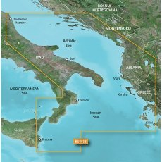 Garmin Bluechart G3 Vision VEU453S Adriatic Sea South Coast