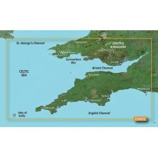 Garmin Bluechart G3 Vision VEU463S Bristol Channel and England S. West