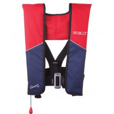 Seago Classic 190 Auto Harness Lifejacket Red/Navy