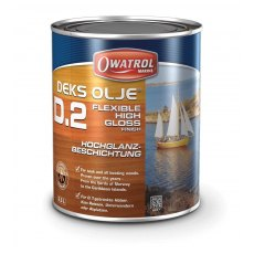 Owatrol Deks OIje D2 Gloss Wood Treatment 1 Litre