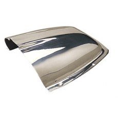 Stainless Steel Clam Shell Vent 170 x 148 x 57mm