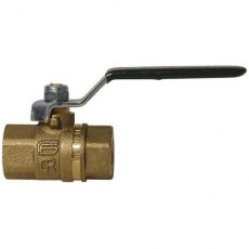 "DZR Lever Handle Ball Valve 1"" BSP"