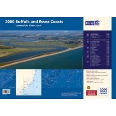 Imray 2000 Suffolk and Essex Chart Pack - Lowestoft to River Crouch