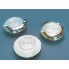 LED Recess Mount Ceiling Lights 12v - Chrome Bezel