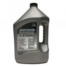 Quicksilver Premium Plus 2 Stroke Outboard Engine Oil - 4Ltr