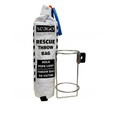 Seago Rescue Throw Bag & Stainless Holder
