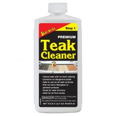 Starbrite Teak Cleaner 500ml Step 1