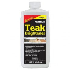 Starbrite Teak Brightener 500ml Step 2