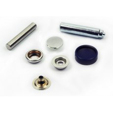 Stainless Steel Canopy Press Stud Kit Fabric/Fabric