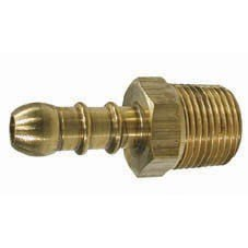 Hose Connector Fulham Nozzle to 3/8 Hose - Male 1/4 BSP
