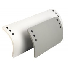 Rib Fender White 350 x 800 mm
