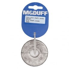 MG Duff ZSC20T Zinc Collar Anode Thin Wall for 20mm Dia Shaft x 15mm thick
