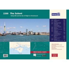 Imray 2200 The Solent Chart Pack