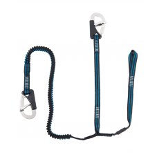 Seago Lifejacket Safety Line - 2 Hook Elasticated with Cow Hitch