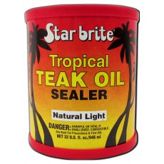 Starbrite Tropical Teak Oil/Sealer Light 473ml