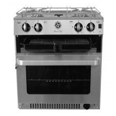 Aquachef V4520 2 Burner Marine Cooker with Oven and Grill and Gimbals