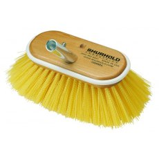 "Shurhold 6"" Regular Brush – 955 – Medium Yellow, Polystyrene"