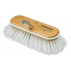"Shurhold 10"" Regular Brush – 990 – Stiff White, Polypropylene"