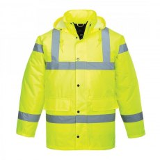 Hi-Vis Yellow Traffic Jacket - To Clear