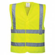 Portwest C470 Yellow Hi Vis Vest