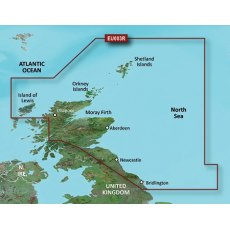 Garmin Bluechart G3 EU003R Great Britain, Northeast Coast