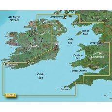 Garmin Bluechart G3 EU004R Irish Sea