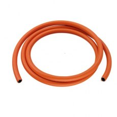 Flexible  Orange Gas Hose 8mm 5/16' (per metre)