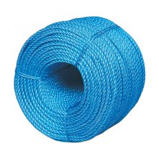 Blue Polypropylene Rope 8mm 25 Metre Coil