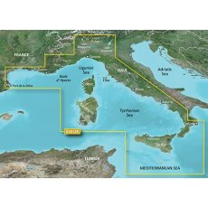 Garmin Bluechart G3 EU012R Mediterranean Sea, Central-West