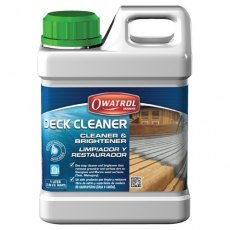 Owatrol Deck Cleaner 1L Wood Cleaner & Colour Restorer