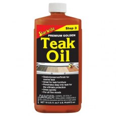 Starbrite Premium Teak Oil 16 oz Step 3
