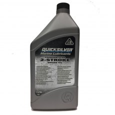 Quicksilver Premium Plus 2 Stroke Outboard Engine Oil - 1Ltr