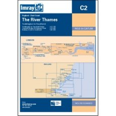 Imray C2 The River Thames Chart