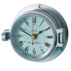 Meridian Zero Channel Matt Chrome Clock