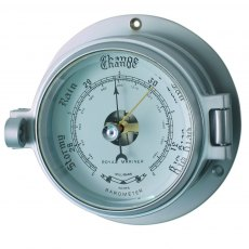 Meridian Zero Channel Matt Chrome Barometer