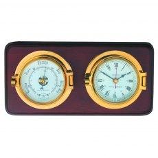 Meridian Zero Channel Clock and Barometer
