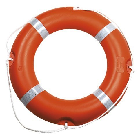 Baltic 75cm Orange Lifering - DOT Approved for Commercial Use